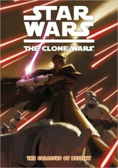 5. Star Wars The Clone Wars: the colossus of destiny is one of the highly sought after and unfortunately fought over books in our library. I guess you just can't beat a graphic novel and the subject of Star Wars. Hey I get it!